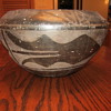 Indian pottery bowl