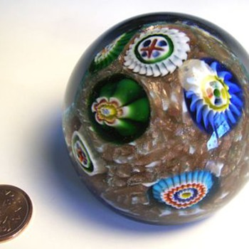 Murano (AVEM) Glass Paperweight - Art Glass