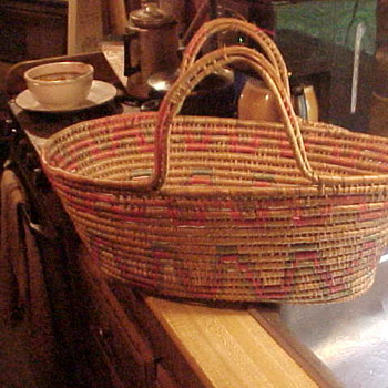Toluca Mexican Basket  - Folk Art