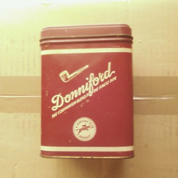 Full Size Donniford TIN - Tobacciana