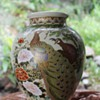 Satsuma peacock vase - ID help required please!
