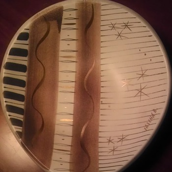 Sascha Brastoff bowl - Art Pottery