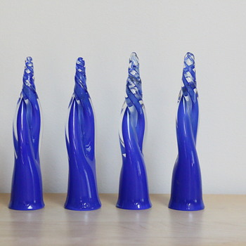 Glass spiral twist objects? - Art Glass