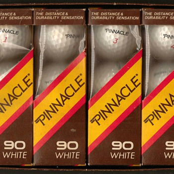 "1986 - Acushnet ""Pinnacle 90"" Golf Balls - Outdoor Sports"