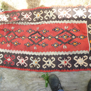 antique rug maybe Dukabour?
