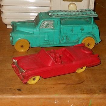 Auburn Rubber 1957 Cadillac - Toys