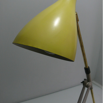 mid century kaiser table lamp