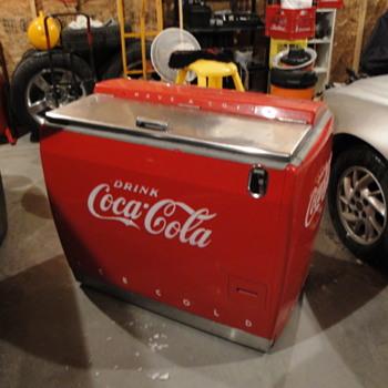 1960's  coke chest cooler - Coca-Cola