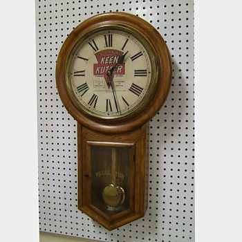 Keen Kutter Advertising Clock