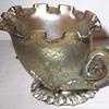 """Art Nouveau, Loetz Candia Papillon Vase, """"Sea Shell Nautilus Form""""1896"""