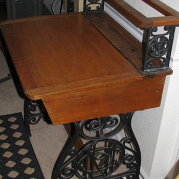 Vintage Desk - Furniture