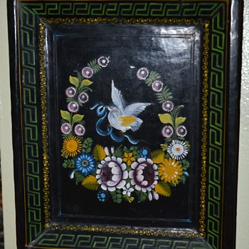 Olinala Wall Plate - Rectangle - Folk Art