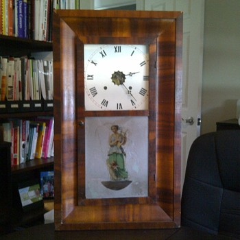 does anyone know anything about this waterbury clock? - Clocks
