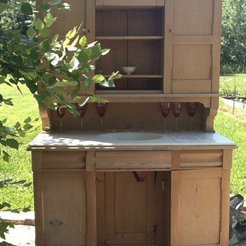rare signed 19th century campaign desk - Furniture