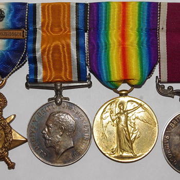 British WW1 Medal Set