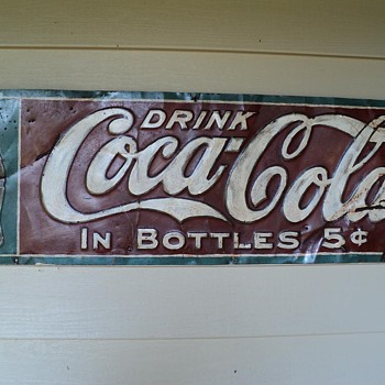 Old (restored) Coca Cola Sign by The Elwood Myers Co...how old is it? - Coca-Cola