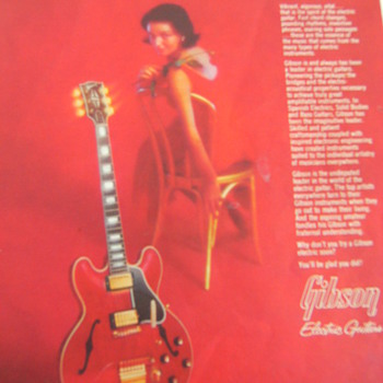 Vintage Gibson Guitar Catalog, Part 2 of 3 - Guitars