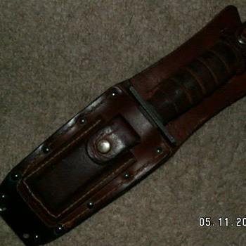 USAF Jet Pilot Survival Knife   Ontario 5-94 - Military and Wartime