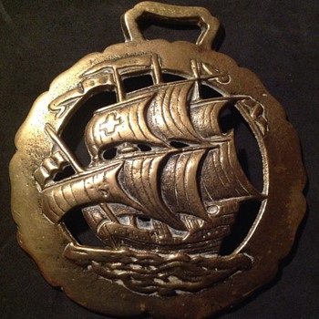 Galleon horse brass - Tools and Hardware