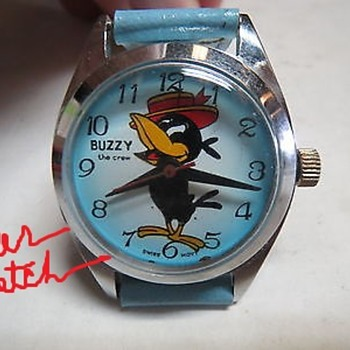 Buzzy the Crow - Wristwatches