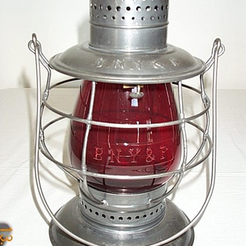 Buffalo, New York & Philadelphia Railroad Lantern - Railroadiana