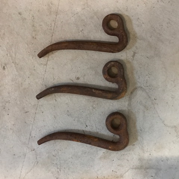 Bent pin maybe some type of implement part