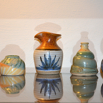 Art Pottery - Some small pieces - Art Pottery