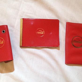 Coke Wallet, Note Pad, & Key Chain
