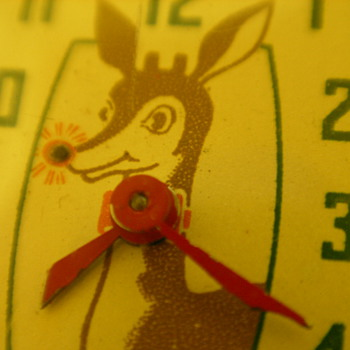 1947 Rudolph Red Nose Reindeer Watch By Ingraham - Wristwatches