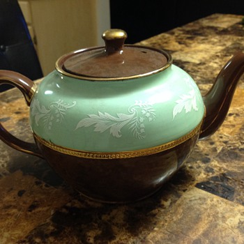 My Grandmother's Sadler Tea Pot - Pottery