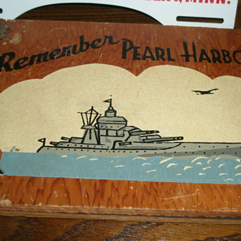Remember Pearl Harbor Items in My Collection