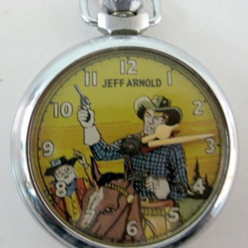 1953 Ingersoll Jeff Arnold Pocket watch