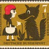 "1960 - W. Germany ""Red Riding Hood"" Postage Stamps Series"