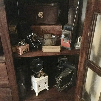 Some of my more of my husbands antiques