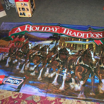 Budweiser Banner Holiday Tradition