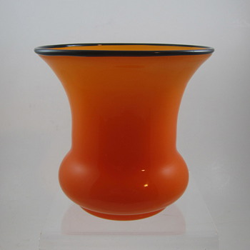 Loetz Tango Glass Vase, ca. 1920s - Art Glass