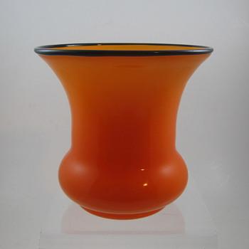 Loetz Tango Glass Vase, ca. 1920s