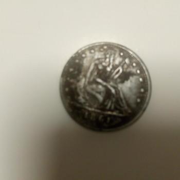 half-dollar 1861
