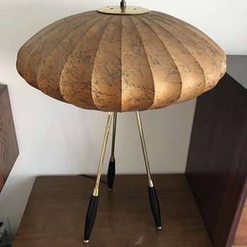 Mid Century Miller/Thurston influenced Lamp?