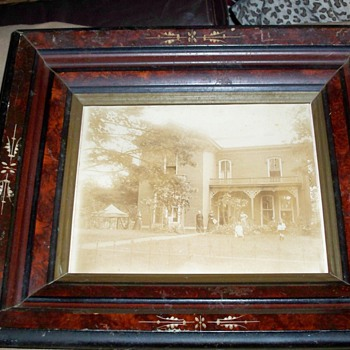 Old Federal Antique Frame - Photographs