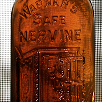 ~~~~Old Warner's Nervine Bottle~~~~ - Bottles