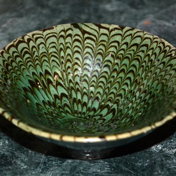 Tiny little Chinese Jiao Tai Kiln Porcelain Bowl.