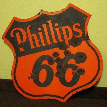 Phillips 66 Sign - Advertising