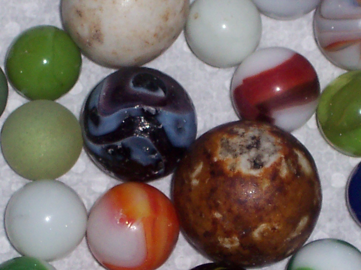 Red Mica Marble Collectors Weekly