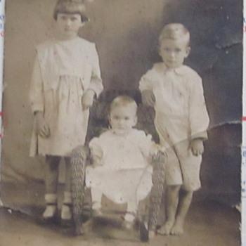 Sibling's Photo CA 1923