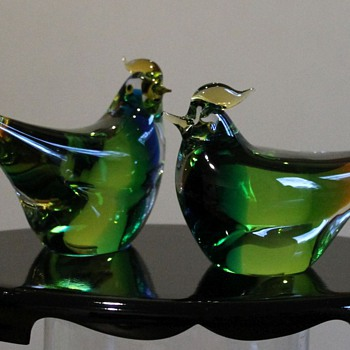 MARTI Glass Japan Birds