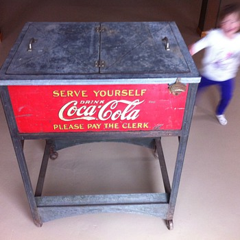 Grandmas coke machine - Coca-Cola