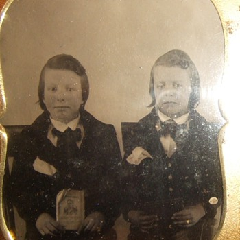 Political campaign ambrotype