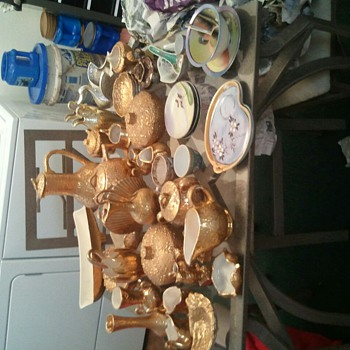My 24K Weeping Gold Collection - Art Pottery
