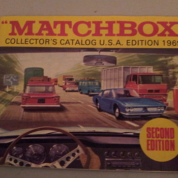Matchbox 1969 Collector's Catalog US edition - Model Cars
